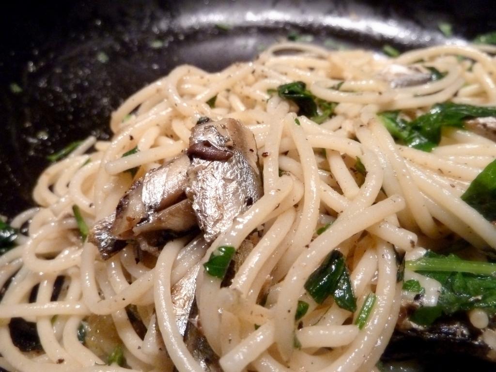 sardine Sicilian style pasta