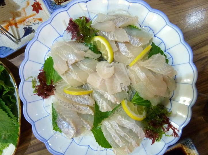 hwe korean raw fish sashimi